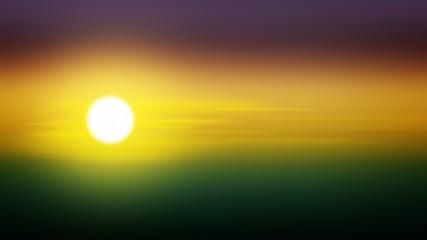 In de dag Olijf Sunset gradient background sunrise sun, colorful backdrop.