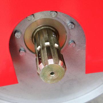 Image splined shaft.