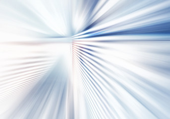 abstract background of light with stripes directed from center outwards in white, grey and blue...
