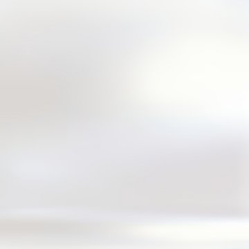 Pearl white shiny 3d background. Room blank empty illustration. Bright flare on wall texture. Clean interior.