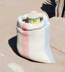 Powder for sale at a Malagasy market