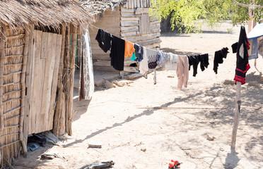 Laundry day on Madagascar