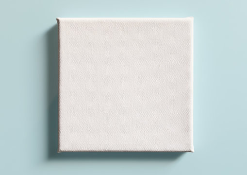 Canvas for painting, close-up