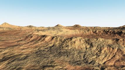 Kraterlandschaft