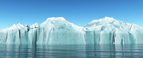 Eisberg im offenen Meer