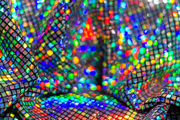 beautiful sequin fabric and color modulations