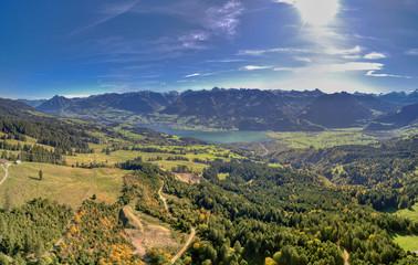Obwalden Bergpanorama inkl. Sarnersee