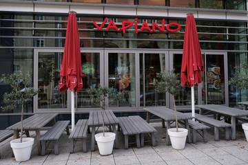 German franchise restaurant Vapiano in Stuttgart