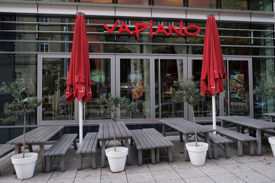German franchise restaurant Vapiano in Stuttgart