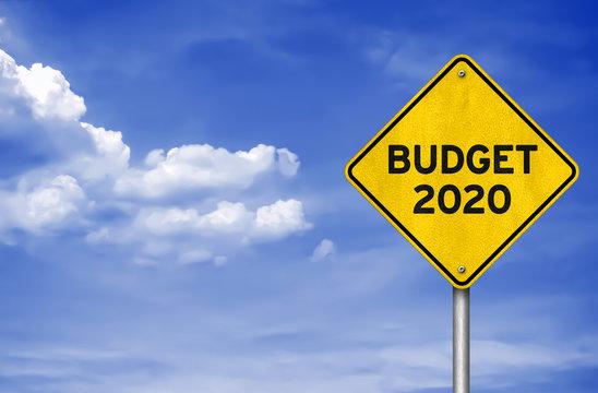 Budget 2020 - road sign information