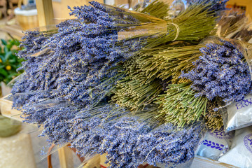 Lavender in shop in Provence