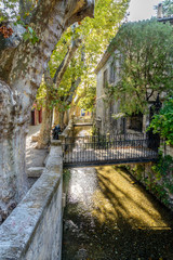 The Rue des Teinturiers in Avignon