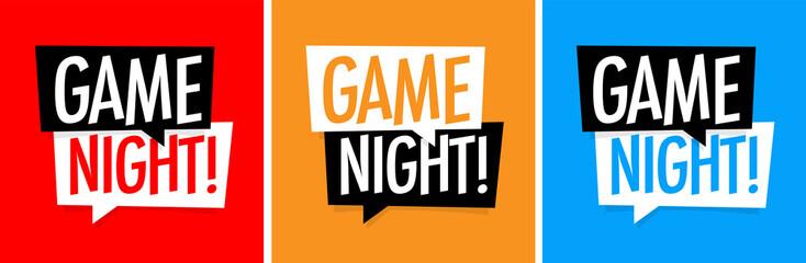 Game night Fototapete