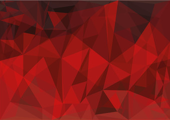 Pattern vector triangle red vector illustration