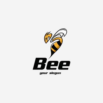 bee animation logo