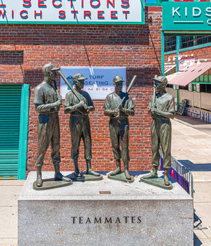 Teammates in Fenway