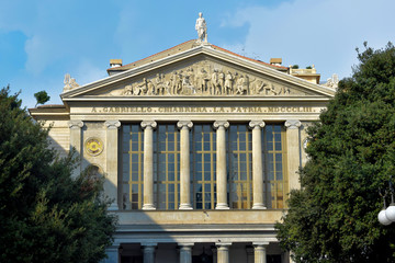 Fototapete - Teatro Gabriello Chiabrera - Savona