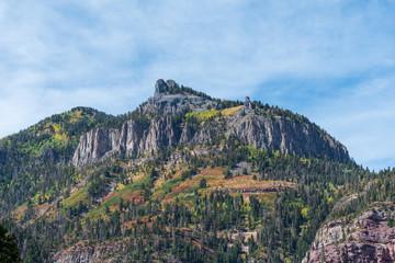view of mountains near Ouray, Colorado