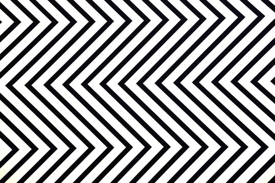 White Zig Zag Lines