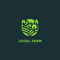 Local farm logo