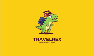 Logo design of dinosaurs