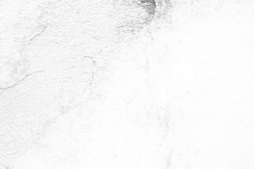 White Broken Concrete Wall Texture Background.