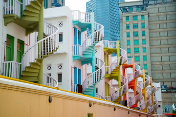 Colorful Apartments - Singapore City