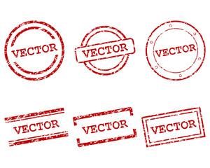 Obraz Vector Stempel - fototapety do salonu