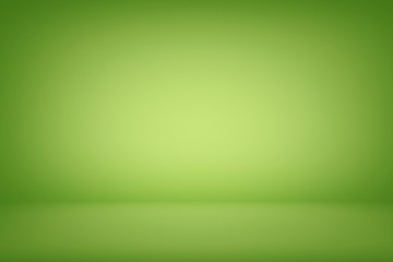 Abstract Gradient Green Room Illustration Background, Suitable for Product Presentation and Backdrop.
