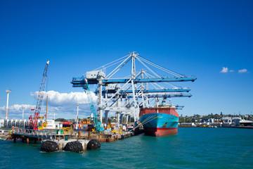 ニュージーランドの貿易港