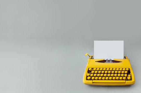 Vintage typewriter,