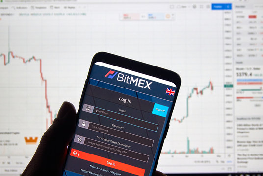 Bitmex cryptocurrency exchange logo