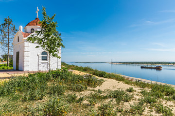 Chapel on the embankment of the 62nd Army in Volgograd, Russia