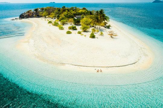 Tropical beach in Coron, Philippines