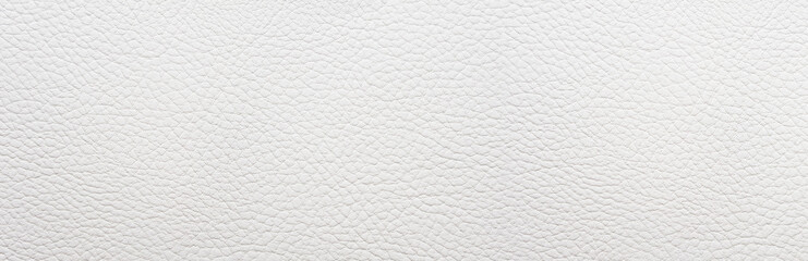 Fotobehang Macrofotografie White leather background. Panorama.