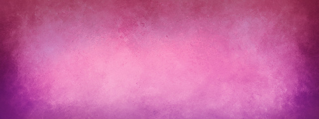 Wall Mural - Abstract vintage pink background with purple texture border grugne in old distressed textured design