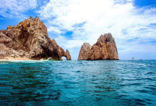 Dragon drinking the ocean Los Cabos Mexico The Arch El Arco Cabo San Lucas