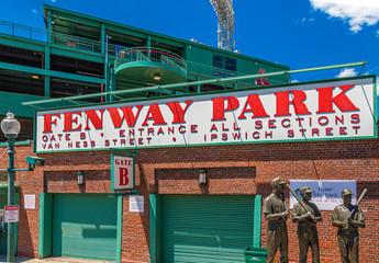Gate B at Fenway