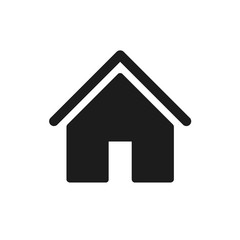 House icon sign - stock vector