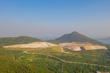 South East New Territories Landfill hong kong 21 Oct 2019