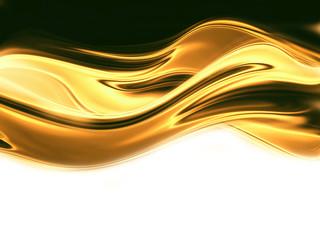 Wall Mural - liquid gold
