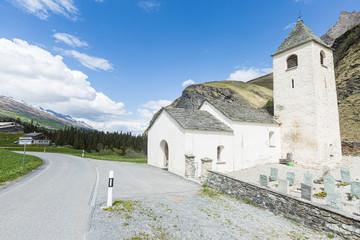 Reformierte Kirche, Thalkirch, Safiental, Graubünden, Schweiz, Europa