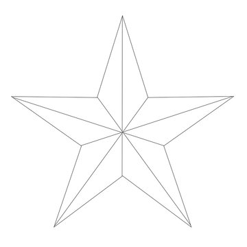 White Texan Star