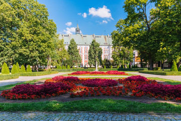 Poznan. Former collegiate Jesuit. Historical architecture
