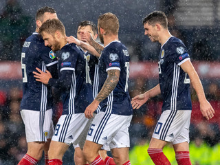 2019 European 2020 Championships Football Qualifiers Scotland v San Marino Oct 13th