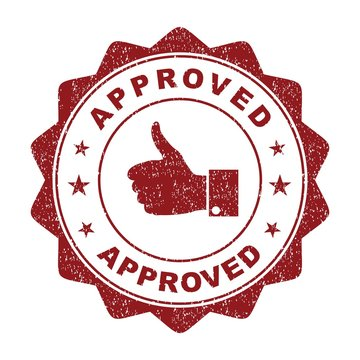 approved. stamp. round grunge approved sign. sticker. seal.