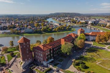 Tuinposter Krakau Wawel Royal Castle - Krakow, Poland