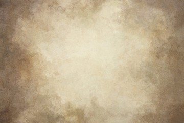 Brown yellow hand-painted background