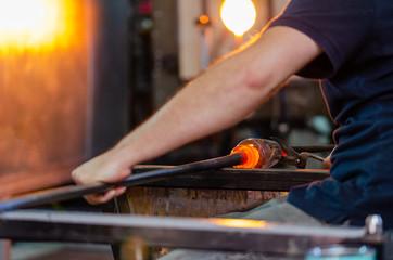 Glass blower manufacturing process