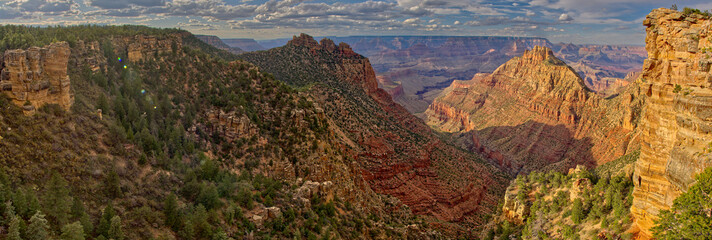 South Rim View from Buggeln Hill, Grand Canyon, Arizona, United States